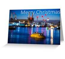 Merry Christmas from London @londonlights Greeting Card