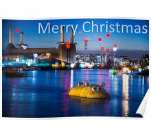 Merry Christmas from London @londonlights Poster