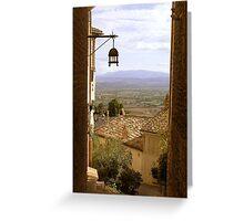 Breathtaking Assisi Greeting Card