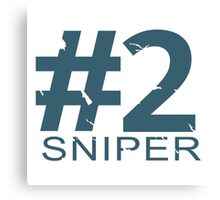 Sniper Number 2 Mug Canvas Print