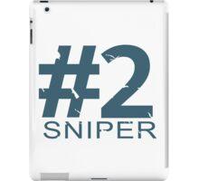 Sniper Number 2 Mug iPad Case/Skin
