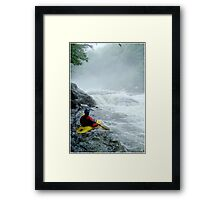 The Dragon's Tooth Framed Print