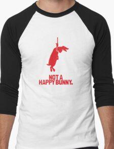 Not a Happy Bunny Men's Baseball ¾ T-Shirt