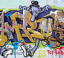graffiti - berlin wall art by fuxart