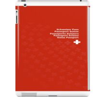 Swiss Passport iPad Case/Skin