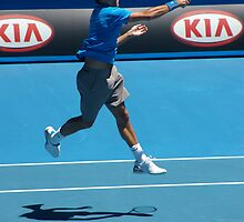 Flying Forehand by Hayley Watson