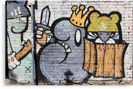 Street Art: global edition # 25 by fenjay