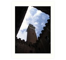 Siena Tower Art Print