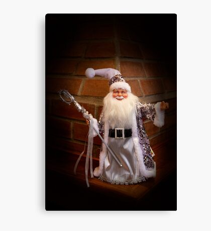 Jolly Old Saint Nicholas Canvas Print