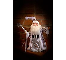 Jolly Old Saint Nicholas Photographic Print