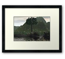 Mother Earth And The Tree Of Life Framed Print