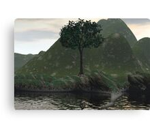 Mother Earth And The Tree Of Life Canvas Print