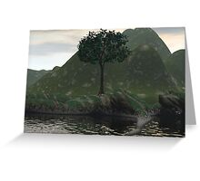 Mother Earth And The Tree Of Life Greeting Card