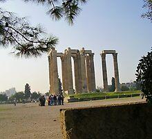 Temple of Zeus by Ann Palmieri