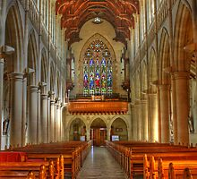 Sacred Heart Cathedral HDR by Ross Jardine