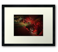 Distortion of Reality Framed Print