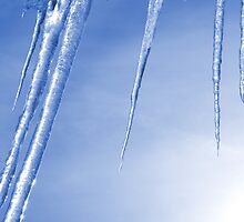 Blue Icicles by andykazie