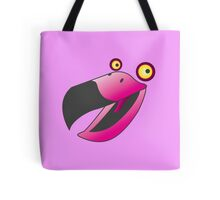 Cute pink beaker bird Tote Bag