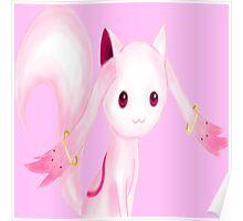 Madoka☆Magica - Kyubey Poster