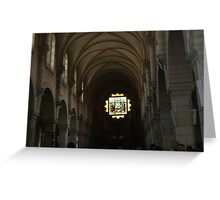 Church of the Nativity, Bethlehem Greeting Card