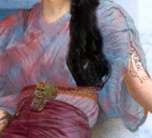 Mediterranean Summer of Amy Sticker