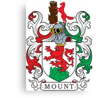 Mount Coat of Arms Canvas Print