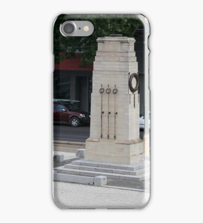War Memorial - Bendigo Fountain Court. iPhone Case/Skin