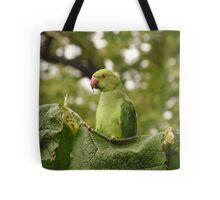 Lean, green, leaf-munching machine Tote Bag