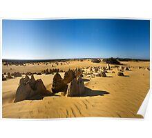 The Pinnacles, Western Australia Poster
