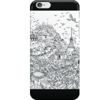 heroic fantasy city iPhone Case/Skin
