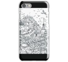 heroic fantasy city iPhone Case/Skin