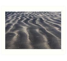 Sandwaves Art Print