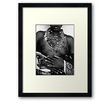 molena Framed Print