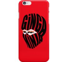 Ginga Ninja iPhone Case/Skin