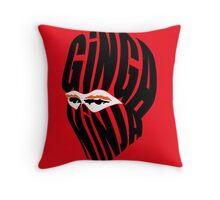 Ginga Ninja Throw Pillow