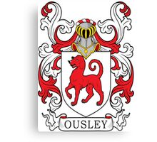 Ousley Coat of Arms Canvas Print