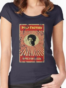 Pulp Faction - Jules Women's Fitted Scoop T-Shirt