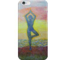 Sunrise yoga iPhone Case/Skin