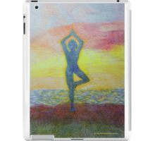 Sunrise yoga iPad Case/Skin