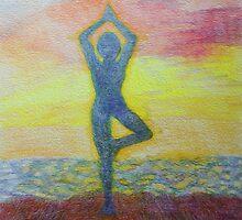 Sunrise yoga by Monica Batiste