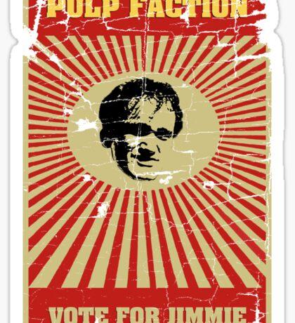 Pulp Faction - Jimmie Sticker
