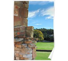 The Pillar of the Community - Port Arthur Historic Site, Tasmania Australia Poster
