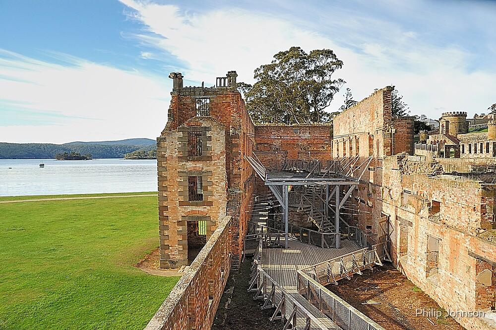 "The Penetentiary"" - Port Arthur Historic Site,Tasmania Austrralia by Philip Johnson"