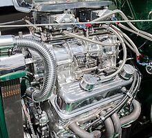 Blown V8 by Neil Bushby
