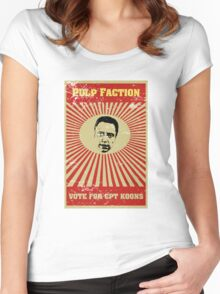 Pulp Faction - CPT Koons Women's Fitted Scoop T-Shirt