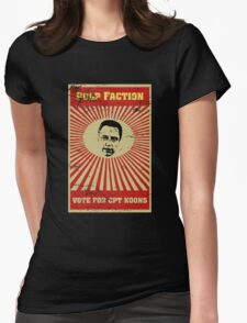 Pulp Faction - CPT Koons Womens Fitted T-Shirt
