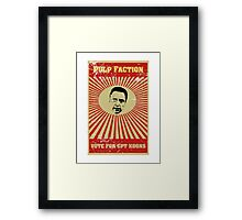 Pulp Faction - CPT Koons Framed Print
