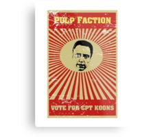 Pulp Faction - CPT Koons Metal Print