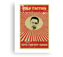 Pulp Faction - CPT Koons Canvas Print