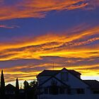 Sunset - Christchurch by John Brotheridge